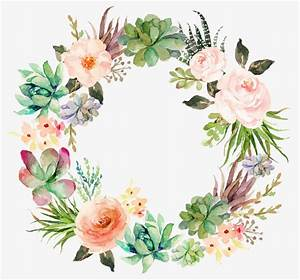 Delicate Floral Wreath Beautifully Garland Flower