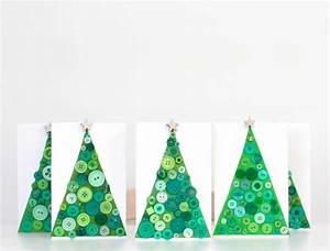 Basteln Mit Knöpfen : weihnachtskarten selber basteln und freunde und verwandte auf klassischem weg begr en ~ Frokenaadalensverden.com Haus und Dekorationen