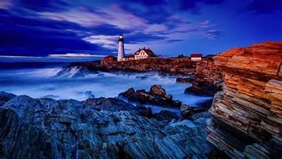 Lighthouse Wallpapers Lighthouses Desktop Ocean Screensavers Background