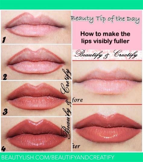 lips  visibly fuller beautify