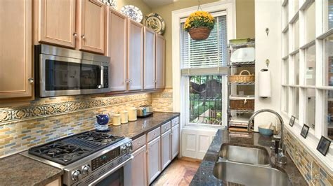 galley kitchen makeover best galley kitchen ideas to homeoofficee 1164