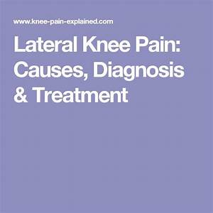 1000  Images About Knee Pain Resources On Pinterest