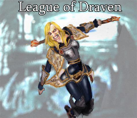 League Of Draven Meme - league of draven lux by sirshepard on deviantart