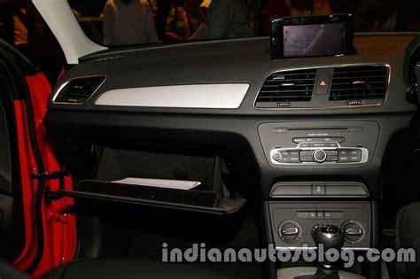 audi q3 dashboard audi q3 s edition dashboard indian autos blog