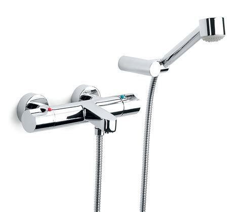 Thermostatic Bath Taps With Shower Mixer by Roca Moai Thermostatic Bath Shower Mixer Tap With Kit