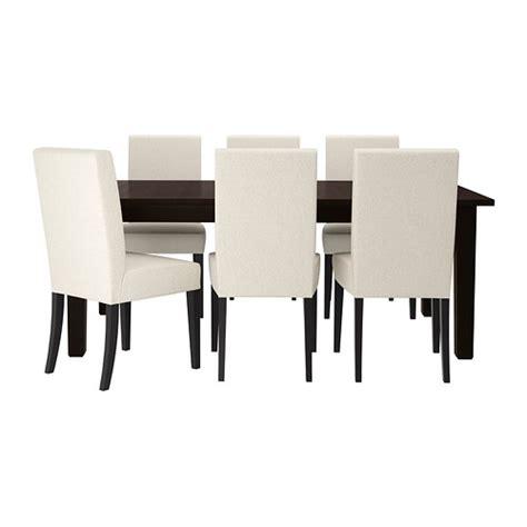 table et chaises ikea stornäs henriksdal table et 6 chaises ikea