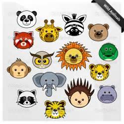 Wildlife Cute Animal Cartoon