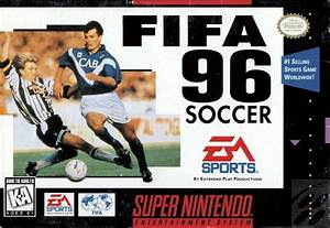 FIFA Soccer 96 SNES Super Nintendo