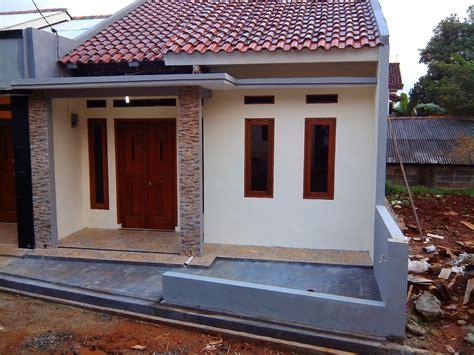 model teras rumah potong gudang terbaru