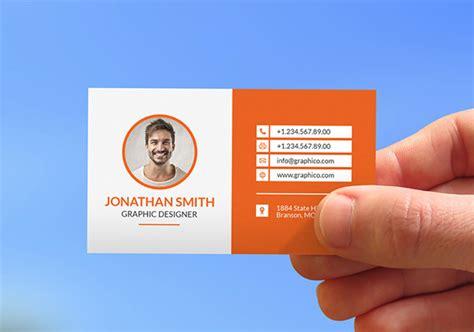 contact card templates psd ai eps  premium