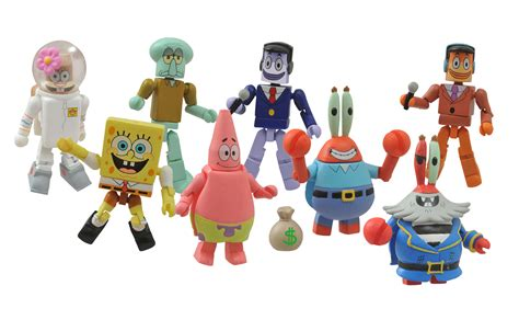 New Spongebob Squarepants Minimates
