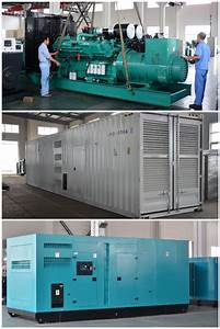 Power By Cummins Engine 1000 Kw Diesel Generator 1250 Kva Genset  View 1000 Kw Diesel Generator