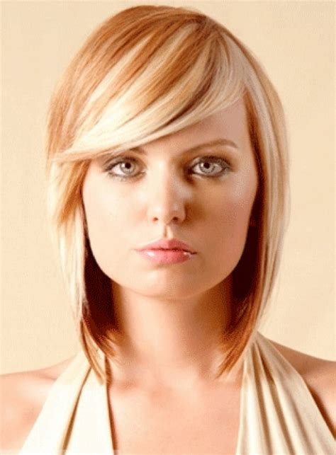 2020 Popular Medium Hairstyles With Side Swept Bangs