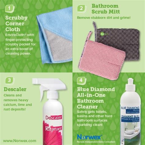 norwex bathroom scrub mitt how to clean your bathroom with norwex norwex helps