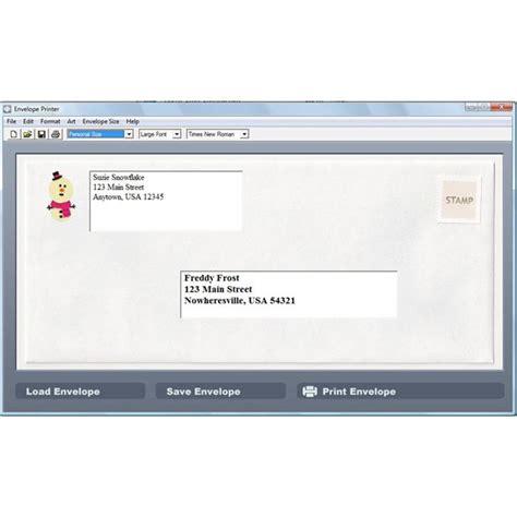 free envelope printing free envelope program free programs utilities and apps backupiso