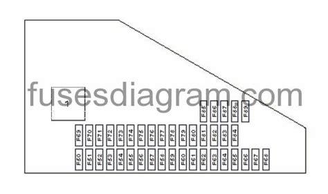 2007 Bmw 530i Fuse Box Diagram by Fuse And Relay Box Diagram Bmw E60