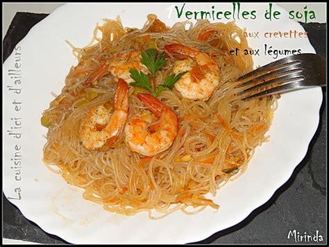 cuisine thailandaise recettes faciles recettes de vermicelle
