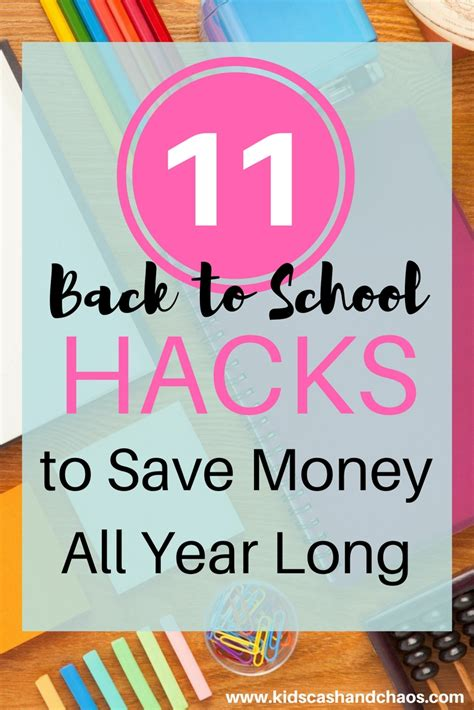 back to school hacks to 11 back to school hacks to save money all year and chaos