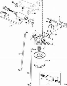 Mercruiser Mx 6 2l Mpi Bravo Fuel Filter  U0026 Boost Pump  Serial No  0m336102  U0026 Up  Parts