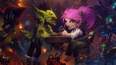 hearthstone goblins vs gnomes zoolock hearthstone goblins vs gnomes expansion out next week vg247