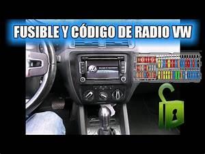 Fusible Autoradio : fusible y codigo de radio volkswagen youtube ~ Gottalentnigeria.com Avis de Voitures
