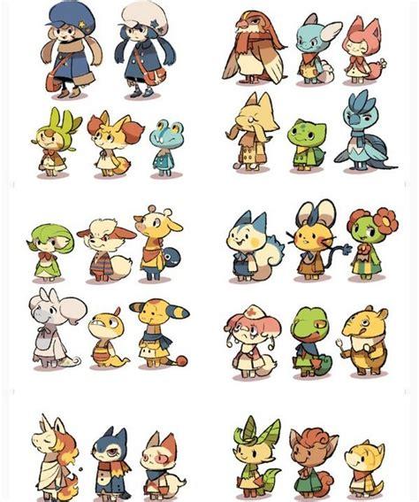 world  pokemon crossing animalcrossing