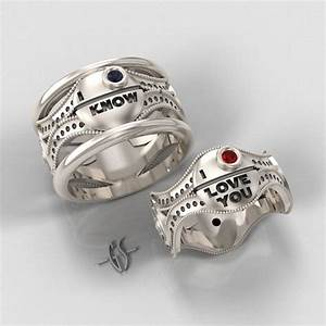how to bring out the geek in you with your dream wedding With geek wedding rings