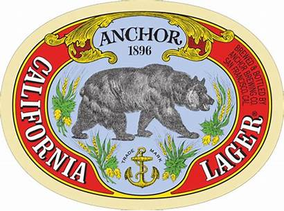 Anchor Lager California Brewing Beer Label Company