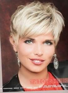 Coupe Courte 2018 : tendances coiffurecoiffure coupe courte femme 50 ans les ~ Carolinahurricanesstore.com Idées de Décoration