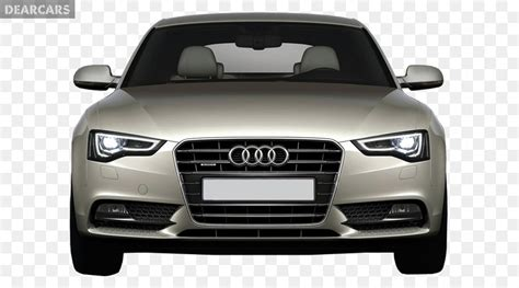 Audi Car Front View Png Png Download