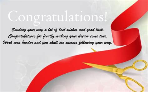 It is not easy to start a business or becoming the to start a company it definitely needs lots of hard work. Congratulation Messages for Shop Opening