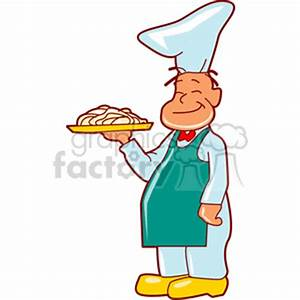 Chef Serving Food Clipart (55+)