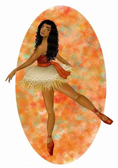 Moana Ballerina Vaiana Esmee Terri Deviantart Ballet