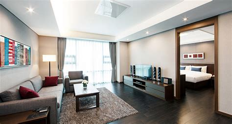 bedroom serviced apartments fraser place central seoul