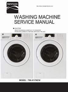Kenmore 41172 Washer Service Manual And Repair