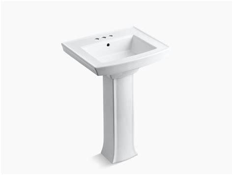 archer pedestal sink with 4 inch centers k 2359 4 kohler