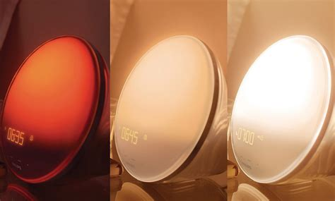 Philips Wake-Up Light With Colored Sunrise Simulation for