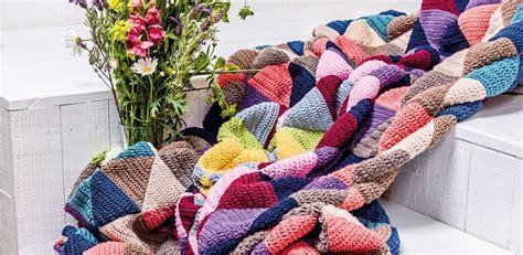 Decke Häkeln Anleitung Für Eine Kuschelige Patchworkdecke