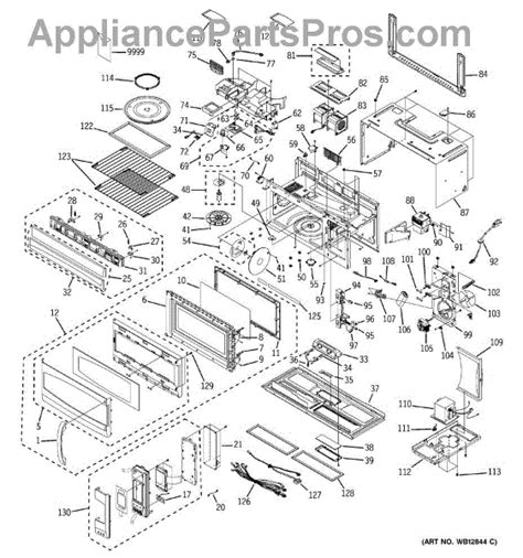 Ge Wiring Schematic Jvm 2 by Parts For Ge Jvm2070ch001 Microwave Parts