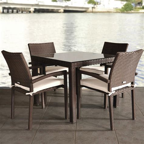 30155 rattan dining table ideal wicker dining table and chairs marceladick