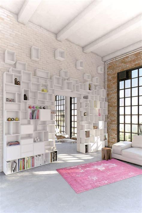 inspirasi desain rak dinding unik desain rumah modern