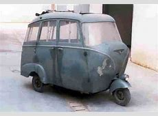 Just A Car Guy Piaggio Ape' ahpay taxi! Very cool!