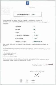 Attestation Cession De Véhicule : importation reception a titre isole rti ~ Gottalentnigeria.com Avis de Voitures