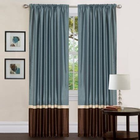 blue and brown curtains 1000 images about living room on great deals