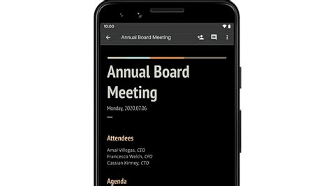 How to Enable Google Docs' New Dark Mode Theme on Android