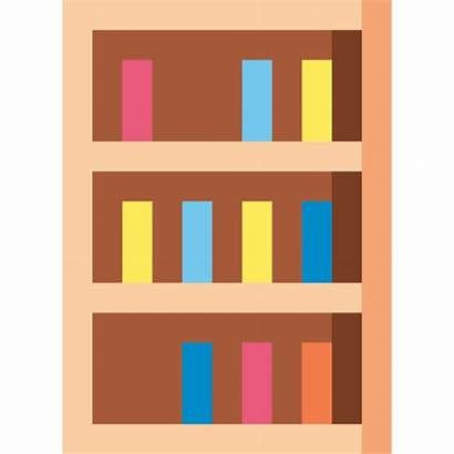 Icon Library Bookcase Icons Wood Storage Furniture