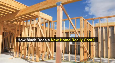 How Much Does A Construction Of New Home Really Cost
