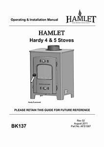 Hamlet Hardy 4  U0026 5 Stoves Bk137 Operating  U0026 Installation