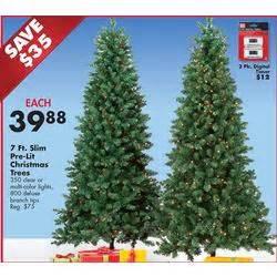 pre lit 350 ct clear lights 7 ft slim christmas tree at big lots black friday 2013