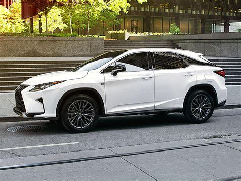 lexus rx luxury crossover features lexuscom
